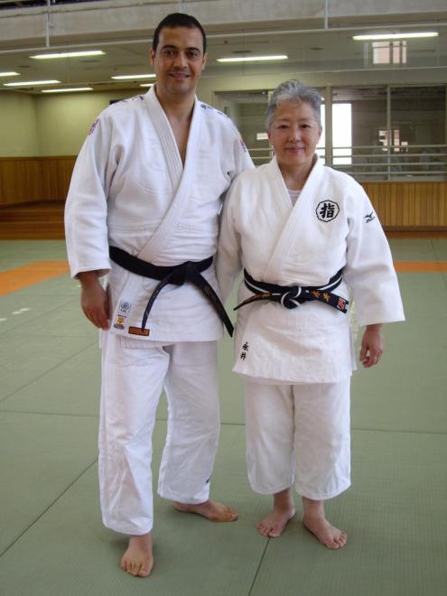 Femme Maitre japonais