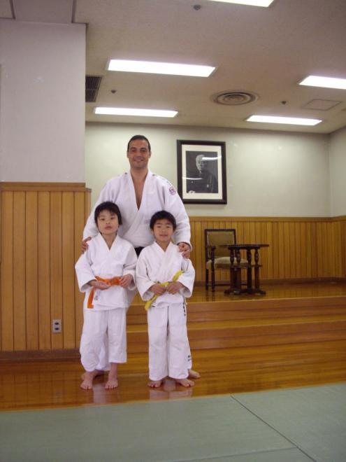Jeunes judokas
